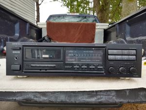 Onkyo Cassette Deck for Sale in Salisbury, MD
