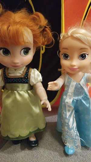 Disney Ana and Elsa dolls for Sale in Phoenix, AZ