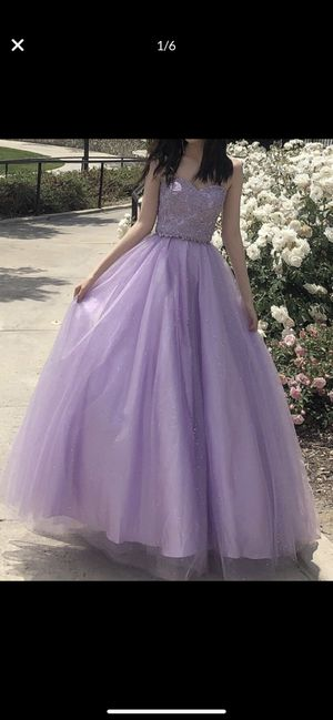 Prom/ Wedding Dress Purple Size 4 for Sale in Chino Hills, CA