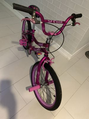 "Kent 20"" 2 Cool BMX Girl's Bike, Satin Purple for Sale in West Palm Beach, FL"