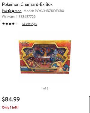 Pokemon charizard box for Sale in Los Angeles, CA