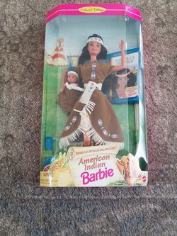 American Indian Barbie Doll American Stories Collection 1995 Mattel NEW IN BOX for Sale in Long Beach,  CA