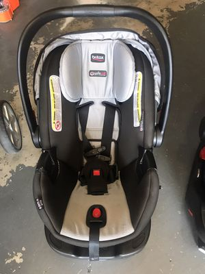 Two Britax car seats with bases and stroller for Sale in Noblestown, PA