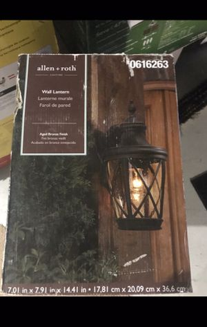 Outdoor lantern for Sale in Rochester, NY