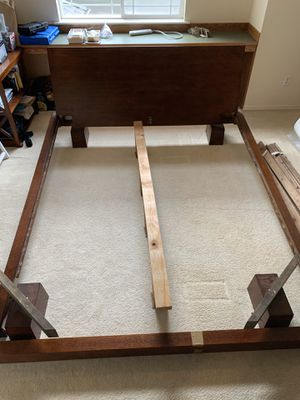 California King Bed Frame (and mattress included!) for Sale in Olympia, WA
