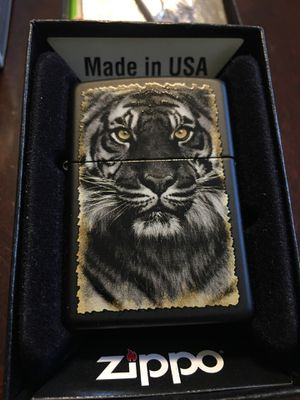 New ZIPPO TIGER LIGHTER WITH FLINTS ! for Sale in Wilmington, MA