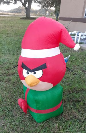 3ft Tall Angry Bird Christmas Inflatable for Sale in Webster, FL