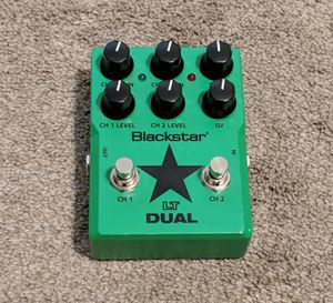 Blackstar LT Dual two channel distortion pedal for Sale in Las Vegas, NV