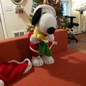 Christmas Snoopy Plushy for Sale in Portland, OR