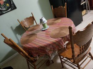 Breakfast table and chairs for Sale in Washington, DC