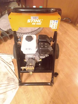Sthil RB 400 Pressure washer . for Sale in Tacoma, WA