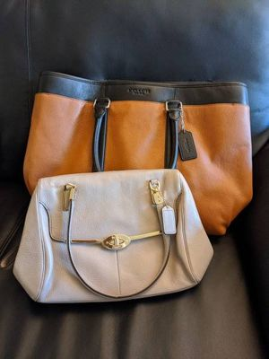 Leather Coach Handbags for Sale! for Sale in Vienna, VA