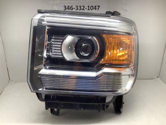 2014 2015 GMC Sierra left headlight for Sale in Houston,  TX