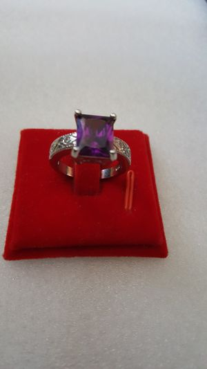 Silver plated ring size 8 for Sale in Staten Island, NY
