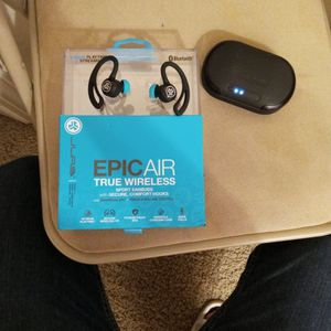 JLab Epic Air Sport True Wireless Earbuds for Sale in Tulare, CA
