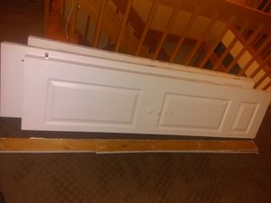 Free bifold doors - just updated sizes. Pickup by Sunday for Sale in Lynnfield, MA