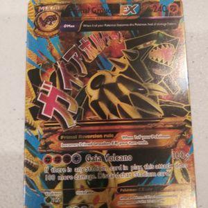 Primal Groudon EX Pokemon card for Sale in Silverado, CA