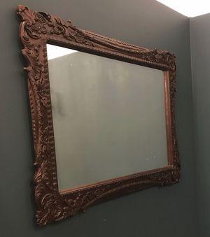 Antique Wood Carved Mirror for Sale in Norfolk, VA