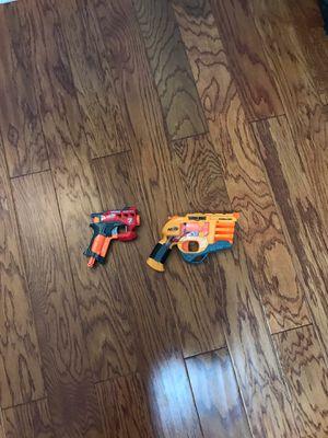 TOY Nerf Persuader and Bigshock pistol blasters for Sale in Sarasota, FL