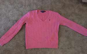 Hot pink Ralph Lauren Sport's Sweater XL for Sale in Seville, OH