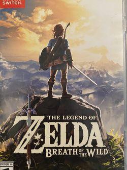 The legend of Zelda breath of the wild for Sale in Apopka,  FL