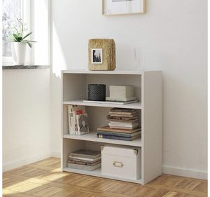 RealRooms White Tally 3 Shelf Bookcase for Sale in Arcadia, CA