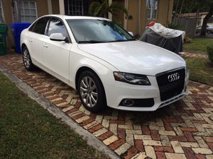 Audi A4 premium plus Quattro with low mileage for Sale in Miami, FL