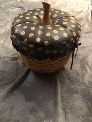 Pumpkin Longaberger basket for Sale in Gaithersburg, MD