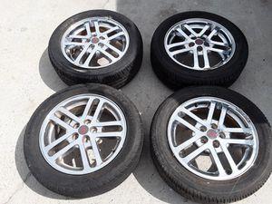 Gm 16x6jx47 wt2 rims, Firestone Fr710 tires for Sale in Myrtle Beach, SC
