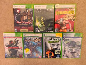 7 Xbox 360 games for Sale in Norcross, GA