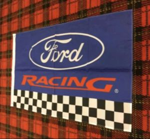 Brand new Ford Racing banner flag for Sale in Celina, OH