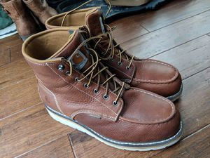 Men's Carhartt Steel Toe Boots Size 10 for Sale in Columbus, OH