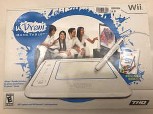 Wii U Draw game tablet for Sale in Indianapolis, IN