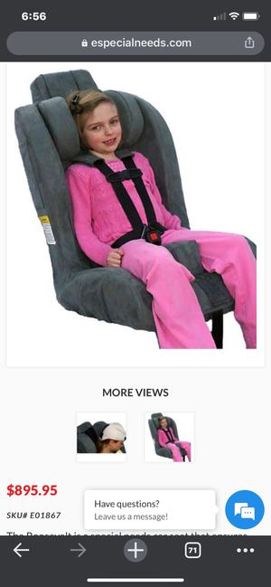 Roosevelt Special Needs car seat for Sale in Long Beach, CA