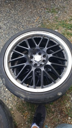 Black chrome size 18 Rims for Sale in Wenatchee, WA