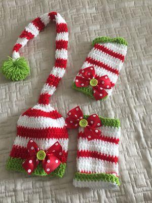 Newborn elf/Santa costume for Sale in Norwalk, CT