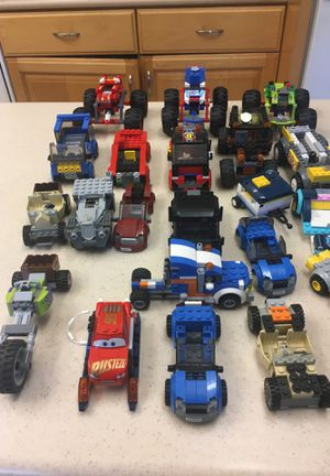 Lego Partial cars trucks and trailers (24) for Sale in Huntington Beach, CA