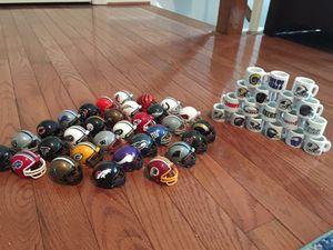 NFL helmets & mini NFL team mugs for Sale in Alexandria, VA
