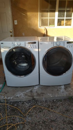 Kenmore Frontload Washer & Gas Dryer Free Delivery for Sale in San Bernardino, CA