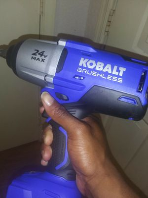 Kobalt battery powered impact for Sale in Newport News, VA
