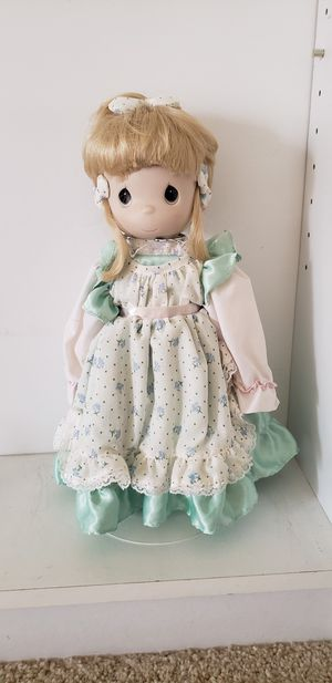 "BEST OFFER Precious moments Four Seasons Limited Edition Porcelain Bisque Doll ""Spring"" for Sale in HUNTINGTN BCH, CA"