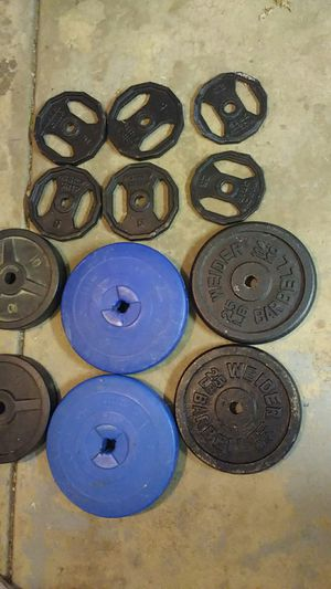 Workout plates for Sale in Hanover Park, IL