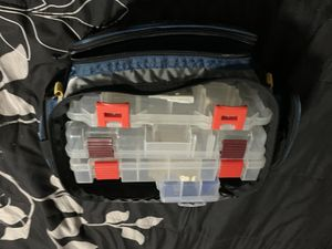 Tackle Bag with Extra Organizers for Sale in Tampa, FL