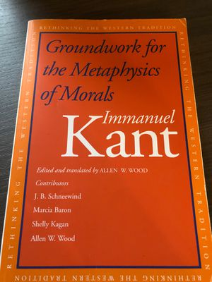 Groundwork for the Metaphysics of Morals for Sale in Washington, DC