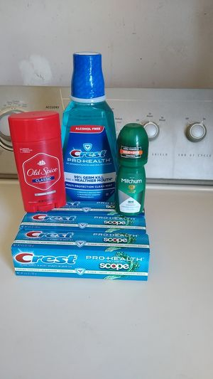 Mouth wash & toothpaste for Sale in Adelanto, CA