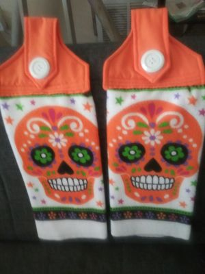 Hanging Halloween Dish Towels for Sale in Montgomery, AL