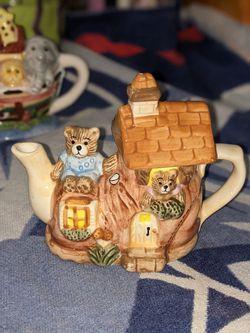 Decorative Teddy Bear Tea Pot for Sale in Rockville,  MD