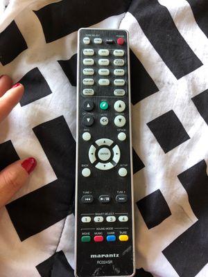 Marantz RC024SR remote control for Sale in Las Vegas, NV