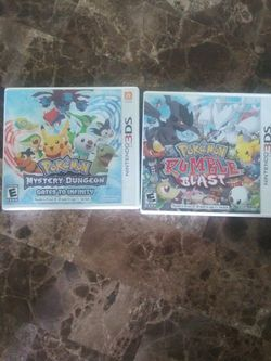 Pokemon Rumble And Gates To Infinity for Sale in Tampa,  FL