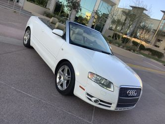 2008 AUDI A4 CABRIOLET - 79k Miles - MINT - RUNS AND DRIVES FANTASTIC - COLD AIR - CLEAN CARFAX - WARRANTY for Sale in Phoenix,  AZ